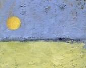 This Hour — Original Oil Painting, Landscape Painting, Abstract Landscape, Original Painting, Abstract Oil Painting, Fine Art, 5 x 7