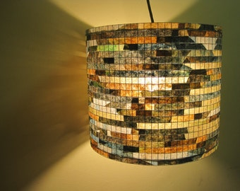 Chandelier Pendant Light Lamp Lampshade Lampada Coffee Filter Art