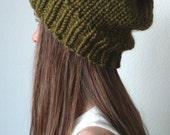 Knit ski hat - with / without Pom Pom - The ANCHORAGE- More colors available