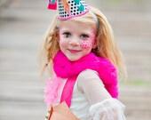 Jubilee Clown Hat, Birthday Hat