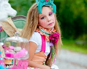 Bit O' Whimsy Collar, Child's Accessory, Girl's Scarf