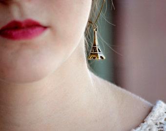 Take Me To Paris Earrings, Eiffel Tower Earrings, Shabby Chic Jewelry