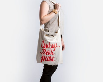Courage Dear Heart | Narnia Tote Bag