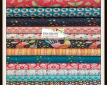 Coral Birds & The Bees BUNDLE By Tamara Kate For Michael Miller (15 Fabrics Total)