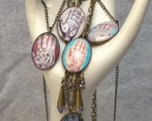 Palmistry Map Necklaces FLAT RATE SHIPPING