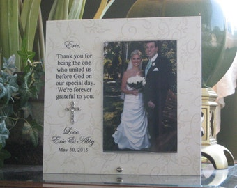 WEDDING OFFICIANT GIFT Wedding Officiant Frame Picture
