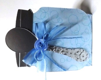 Baby Shower Favors (Set of 6) Blue