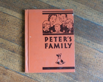 Vintage Children's Book - Peter's Family (1935)