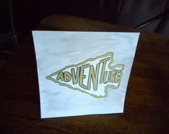 Adventure Arrowhead 5x5 Greeting Card