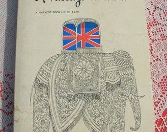 READERS COPY A Passage To India by E M Forster 1952 Paperback Book