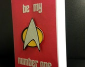Be My Number One - Greeting Card