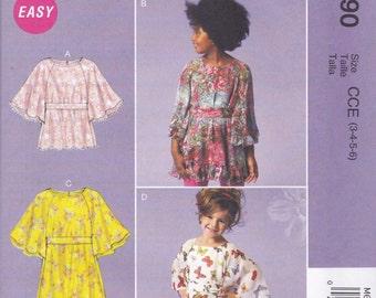 Girls' Tunic Pattern McCalls 6690 Sizes 3 4 5 6 Uncut
