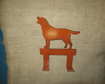 Lab Leash Hook/Dog Leash Hook/Dog Metal Art/Dog Home Decor/Pet Accessories/Dog Accessories