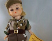 """Madame Alexander 8"""" Doll 1991 Welcome Home Desert Storm New with Hang Tag"""