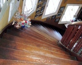 Instant digital download  photo from original antique  wood stairs  NO item will be shipped