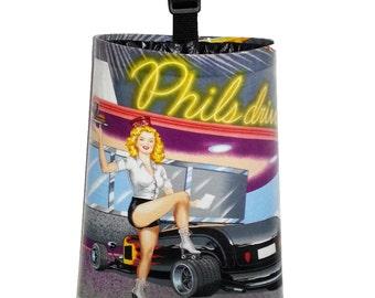Vinyl Coated Trash Bag  -  Phil's Drive-In