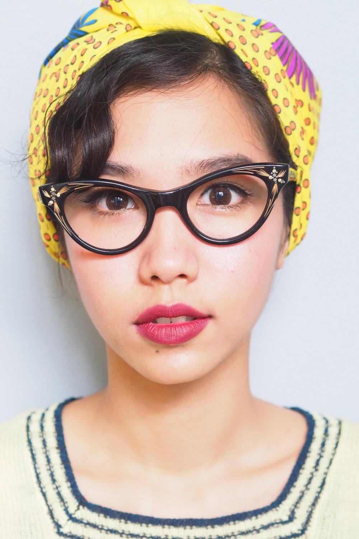 Vintage Eyeglasses Cat Eye Shape 1960s Made by ...