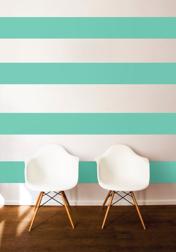 Wall Stripes - Wall Decal Custom Vinyl Art Stickers for Nurseries,  Bedrooms, Homes,