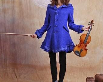 wool coat wool jacket wool dress blue winter jacket winter coat winter dress