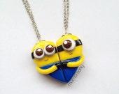 Super Cute Minion Friendship Necklaces