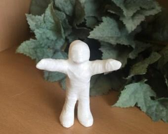Mummy Miniature Ceramic Hand Made