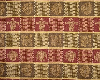 Fall Vintage Cotton Woven Tablecloth 46 X 60