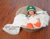 Crochet Photo Prop, Mallard Duck Costume, Mallard Duck Baby Shower Gift, Mallard Duck Photo Prop, Duck Baby, Baby Duck, Hunter Baby