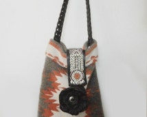 Vintage Woven Indian Rug Purse
