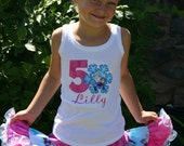 Ari's Angels Personalized Girls Frozen Birthday outfit, Frozen Shirt Embroidered, Appliqued, Monogrammed