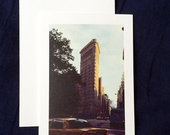 Flatiron Building NYC Greeting Card 3.5x5""