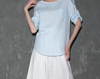 Cool Lovely linen Shirt C652