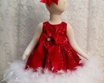 Red dress 3t ghost