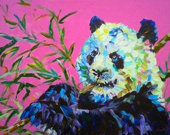 "Original painting ""Panda"""