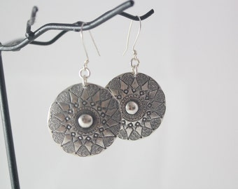 Bright Sun Sterling Silver Earrings