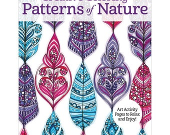 Design Originals Creative Coloring  Patterns of Nature Coloring Book