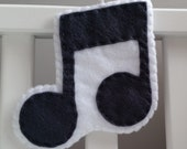 Grey Quaver Decoration