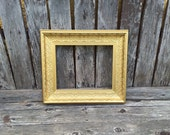 Extra Large Frame,Gold, Ornate Picture Frame,16x20 ,Wedding Frame, Photo Prop (Los Angeles)