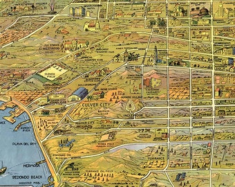 Items Similar To California Thomas Guide Maps Los Angeles And - Us paper map thomas guide
