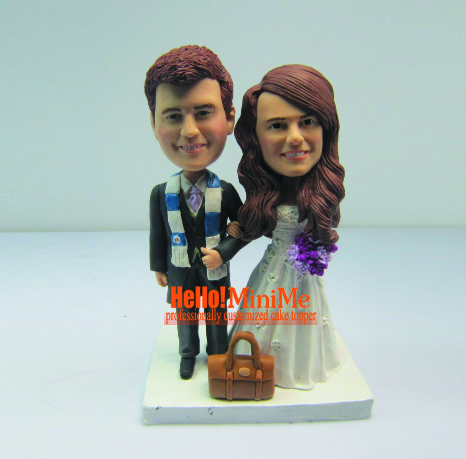 bobblehead wedding cake topper wedding cake topper bobblehead custom cake topper bobble ehad 1994