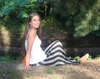 2 in 1 Stripe Dress