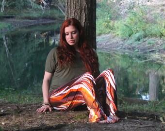 Autumn Flare Pants