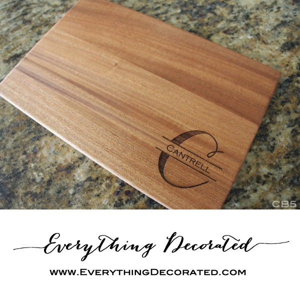 Personalized cutting board engraved cutting board custom - Engraved wooden chopping boards ...