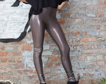 Gunmetal Leggings