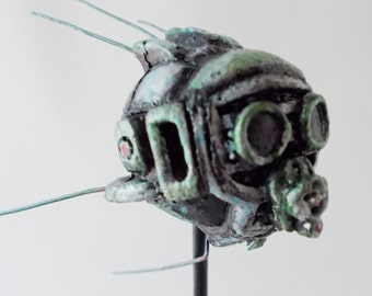 Fallout! An Eyebot to Call Your Own - Handpainted Resin Cast Sculpture