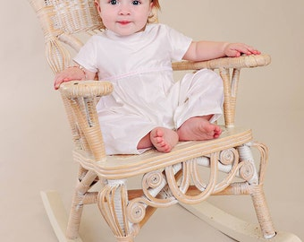 Phoebe After-Christening Baptism Blessing Romper