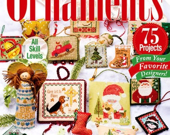 Just Cross Stitch Christmas Ornaments 2014 Special Issue