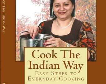 Cook The Indian Way Indian Recipe Cookbook