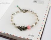 Pearl Bracelet, Flower Girl Bracelet,Infant Jewelry,Baby Girls First Jewelry,Childrens Bracelet Kids Accessories,Junior Bridesmaids Bracelet
