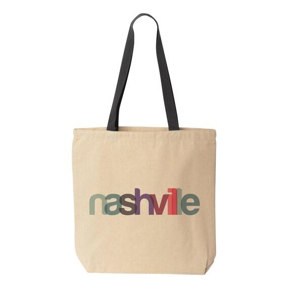 ... Tote Bag Nashville Gift Nashville Wedding Gift Nashville Bag