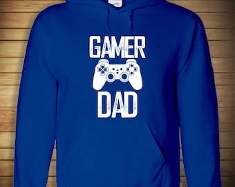 Gamer Dad HOODIE - father's day, new dad, gift idea - ID: 711